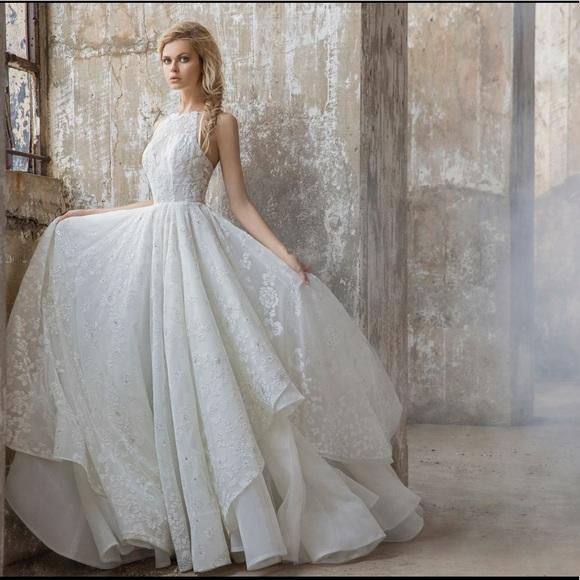 41a9f521545 Hayley Paige Reagan Wedding Dress